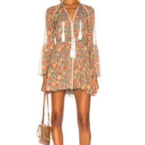 Alexis Garden Print Cicely Dress